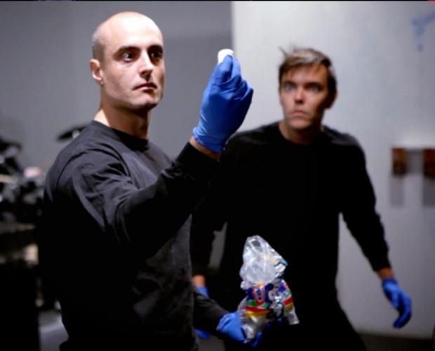 Alan Pagnota está fora da final da escolha do primeiro Blue Man brasileiro (Foto: Divulgação)