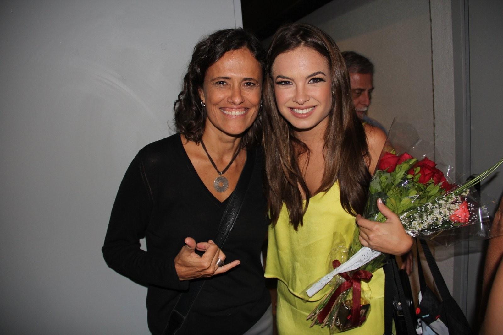 Zélia Duncan e Lua Blanco (Foto: Marcello Sa Barretto / AgNews)