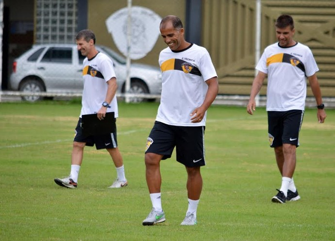 Felipe e Pedrinho no Tigres (Foto: Davi Pereira/SportVoice )