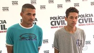 Suspeito de chefiar quadrilha de tráfico em Santa Luzia e comparsa são presos