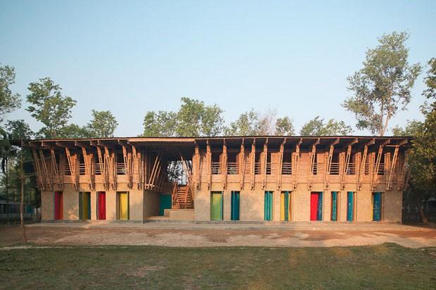 METISCHOOL (Bangladesch) von Anna Heringer und Eike Roswag (Foto: Kurt Hoerbst / Anzenberger)