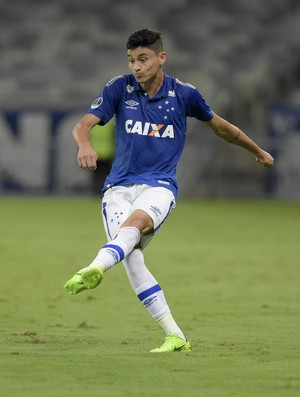 Cruzeiro x Nacional-PAR; Diogo Barbosa (Foto: Yuri Edmundo/Light Press)