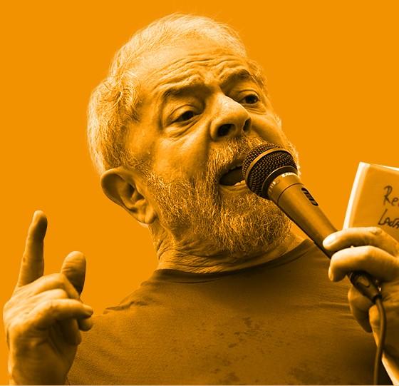 O ex-presidente e presidenciável Lula. Há tempos ele se faz de vítima de uma conspiração da imprensa (Foto: Fábio Motta/Estadão Conteúdo)