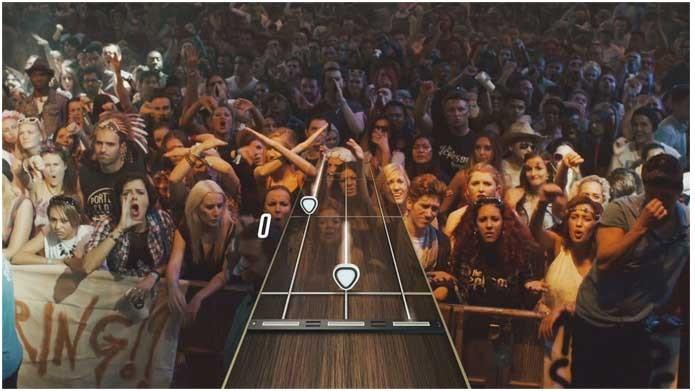 Se o público estiver insatisfeito em Guitar Hero Live, jogador vai saber (Foto: Divulgação/Activision)