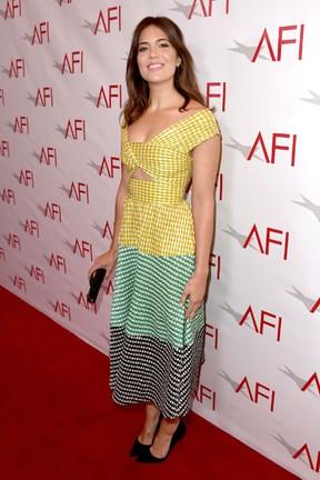 Mandy Moore em premiação em Los Angeles, nos Estados Unidos (Foto: Kevin Winter/ Getty Images/ AFP)