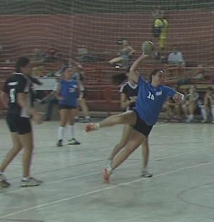 Campeonato Acreano de Handebol Feminino (Foto: Reprodução/TV Acre)