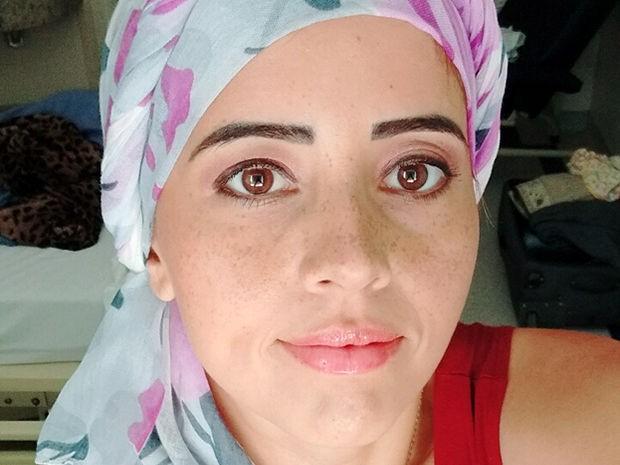 Nádia Andrade precisa de transplante de medula (Foto: Arquivo pessoal)