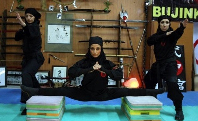Mulheres ninjas