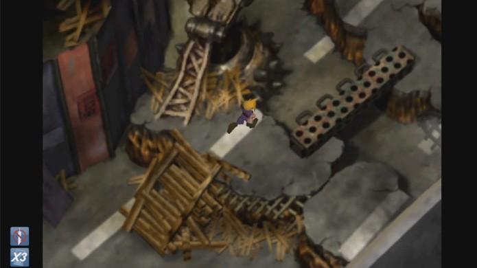 Os ícones que indicam quais Cheats estão ativados aparecem na parte inferior esquerda da tela (Foto: Reprodução/YouTube)