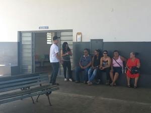 Velório de Carlos Alberto Gomes aconteceu nesta quarta em Piracicaba (Foto: Thainara Cabral/G1)