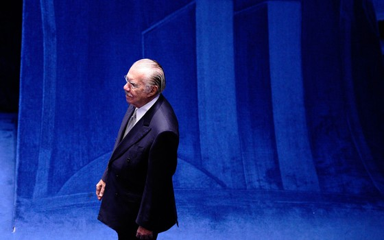 O senador José Sarney (PMDB-AP) (Foto: Edilson Rodrigues/Agência Senado)