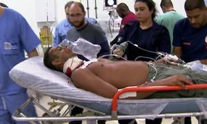 Repórteres fazem plantão em hospitais do Rio e mostram as vítimas de violência