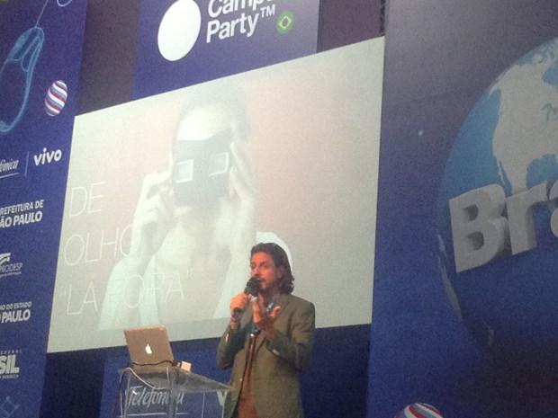 Lourenço Bustani, brasileiro eleito um dos mais criativos do mundo (Foto: Helton Simões Gomes/G1)
