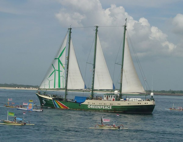 Greenpeace Rainbow Warrior