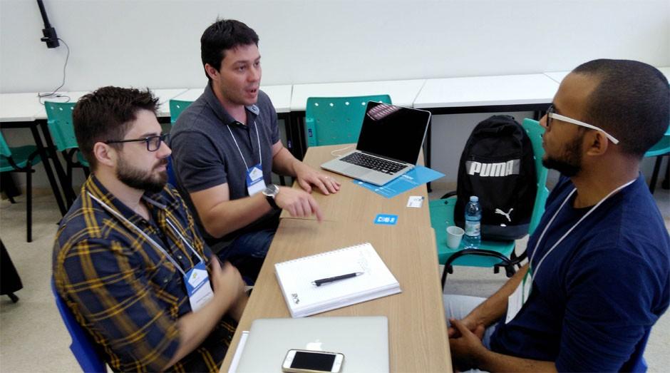 Troca intensa de ideias: 119 startups tiveram três dias de intenso aprendizado (Foto: Agência Sebrae de Notícias)