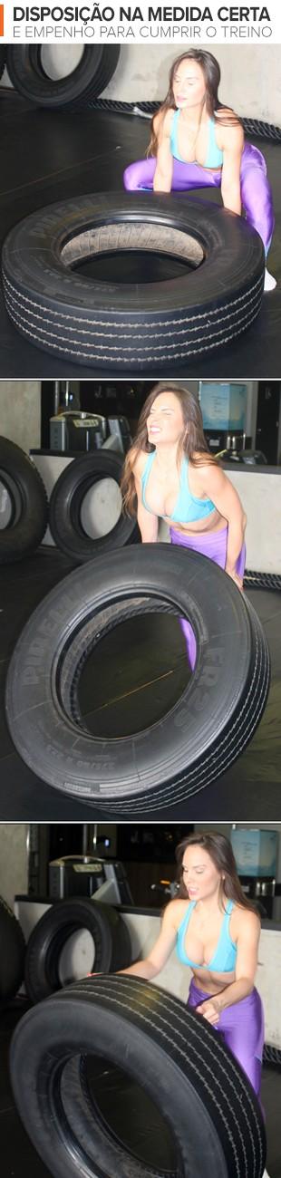 euatleta MUsa em Ação Carol Fitness mosaico_ESTE (Foto: Eu Atleta)
