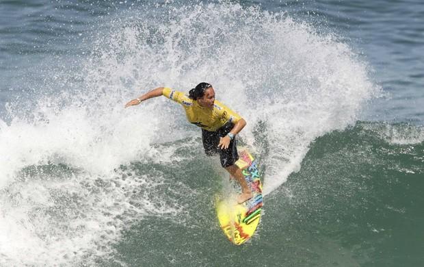 surfe Melanie Bartels no Rio Pro (Foto: Sergio Moraes / Reuters)