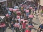 Funcionários públicos de Americana fazem passeata contra parcelamento