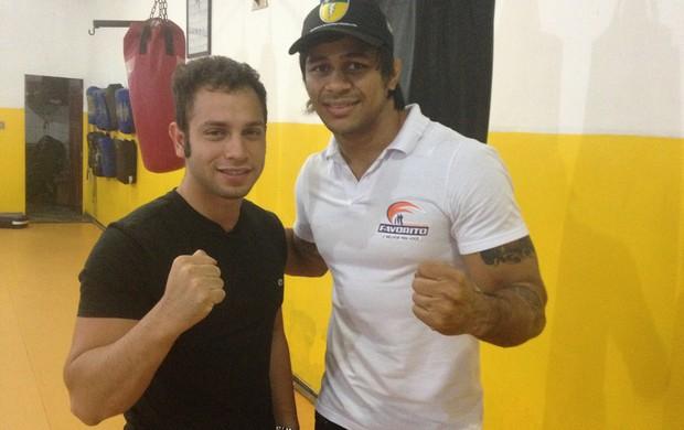 Lutador amapaense Tiago Trator irá treinar na Academia Team Nogueira (Foto: Jonhwene Silva/GE-AP)