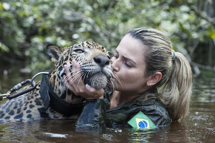 Jiquitaia mora no Comando Militar da Amazônia, em Manaus (Foto: Michell Melo)