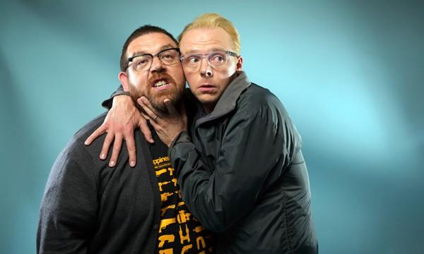 Simon Pegg e Nick Frost (Foto: .)