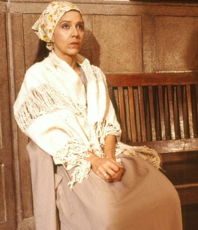 Na novela Tieta, de 1989, Yoná viveu Tonha (Foto: CEDOC / TV Globo)