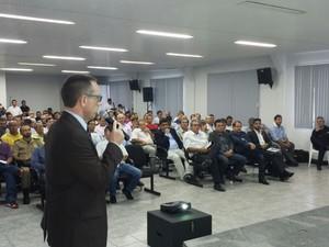Audiência pública foi realizada em Sinop, estado do Mato Grosso, na terça-feira(26) (Foto: Divulgação/Aces)