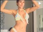 Adriana dança de biquíni e provoca Rodrigão: 'Nem vai ficar com ciúmes'