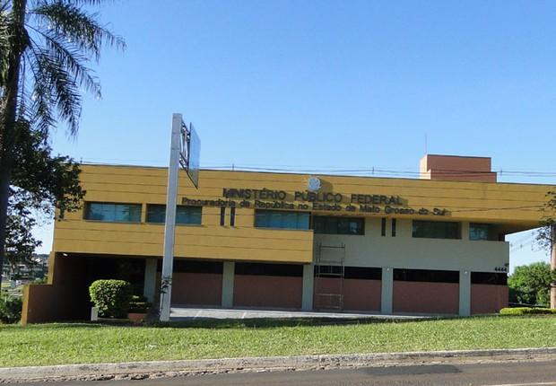 Procuradoria Geral da República de Mato Grosso do Sul (Foto: Divulgação)