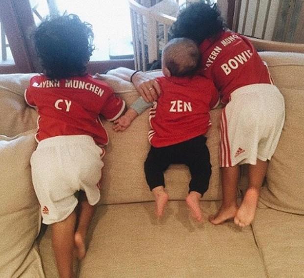 Filhos de Zoe Saldana (Foto: Reprodução/Instagram)