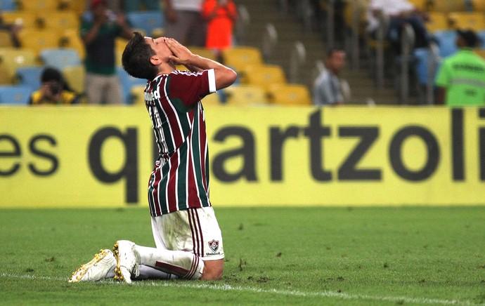 Conca comemora gol do Fluminense contra o Criciúma (Foto: Nelson Perez / Fluminense FC)
