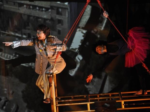 Espetáculo a Pulga e Arquiteto  (Foto: Mayara Wui)