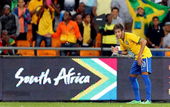Neymar brasil África do Sul amistoso (Foto: Jefferson Bernardes / Vipcomm)