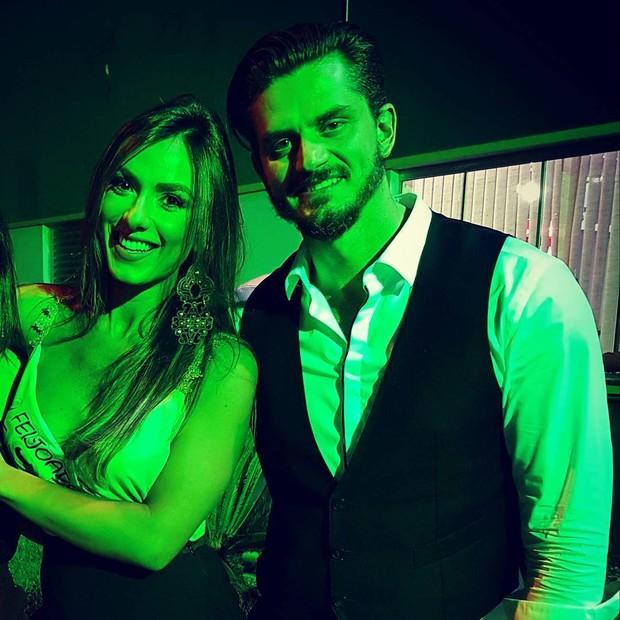 Marcos Härter e Nicole Balhs (Foto: Reprodução )