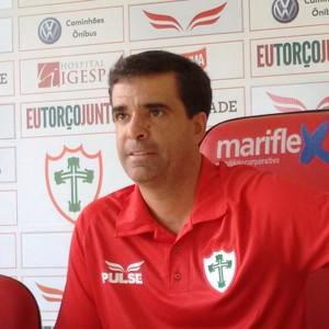 Junior Lopes Portuguesa (Foto: Yan Resende)