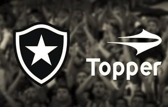 Botafogo anuncia a Topper de forma oficial e revela valor de R$ 40 milhões