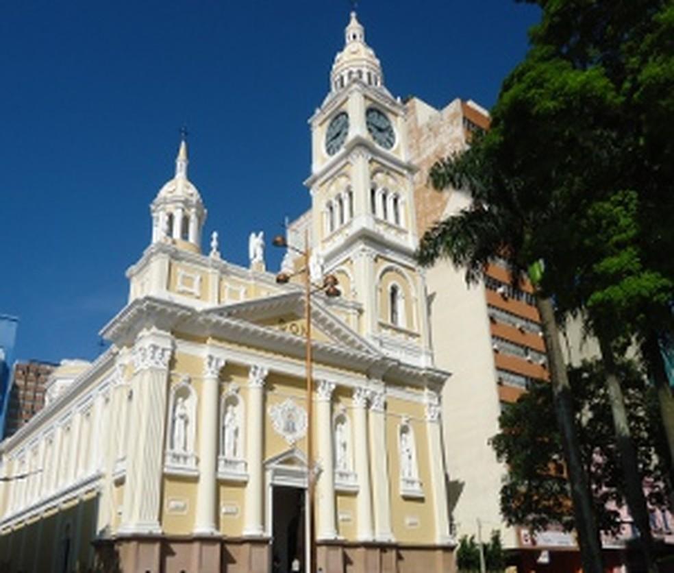 Caso foi registrado na Catedral Metropolitana de Sorocaba (Foto: G1)