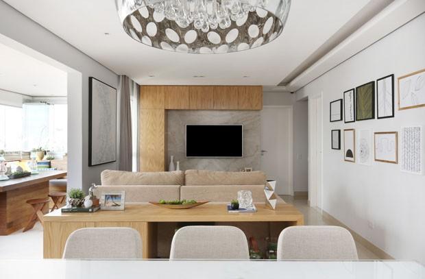 Um apartamento em SP com ambientes integrados e quarto 'radical' (Foto: Mariana Orsi/Divulgação)