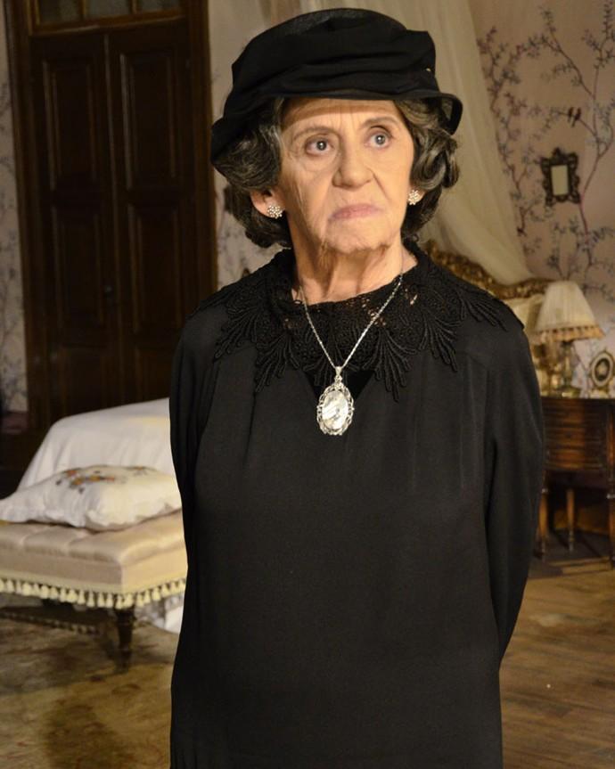 A personagem Doroteia surpreendeu a todos em 'Gabriela' (Foto: Raphael Dias/Globo)