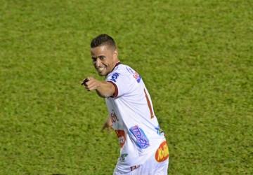 Tito, atacante do Sertãozinho (Foto: Tamiris Dinamarco/Express Sport)