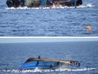 Itália resgata 500 migrantes em naufrágio na costa líbia; 7 morreram