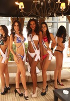 Candidatas a Miss Brasil 2015 desfilam de biquíni dois dias antes do concurso
