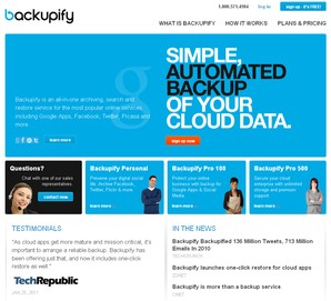 backupify backup de arquivos
