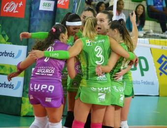 Brasília Vôlei x São José Superliga feminina (Foto:  Irene Egler / Ponto Marketing Esportivo)