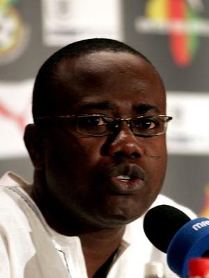 Kwesi Nyantakyi presidente da associação de futebol de gana (Foto: Agência AFP)