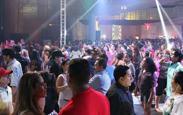 Studio 5 Disco ocorreu no último sábado (28) (Foto: Indiara Bessa/ G1 AM)