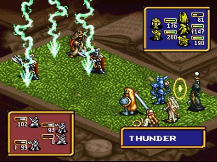 Ogre Battle tem abordagem diferente focando em combates estratégicos e escolhas morais (Foto: Reprodução)