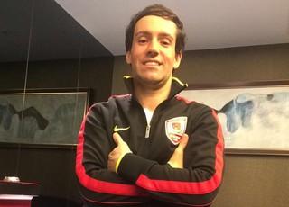 Felipe Marques Choquinho fisioterapeuta Grêmio (Foto: Arquivo Pessoal)