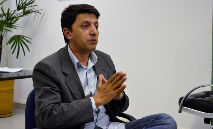José Luís Nunes secretário de esportes São José dos Campos (Foto: Danilo Sardinha/GloboEsporte.com)