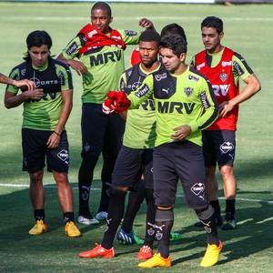 Jogadores do Atlético-MG durante treino na Cidade do Galo (Foto: Bruno Cantini/Flickr do Atlético-MG)